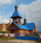 Холопеничи, церковь Успенская новая (дерев.), после 2004 г.