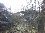 Ист, усадьба:  усадебный дом (?) (дерев.; руины), XIX в.?