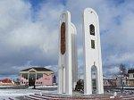 """Ивье, монумент """"В честь дружбы и единства конфессий Ивьевщины"""", 2012 г."""