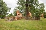 Ивенец, усадьба:  усадебный дом (руины), нач. XX в.