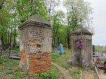 Клецк, кладбище христианское: брама, XIX в.