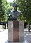 Кобрин, парк: бюст А. В. Суворова