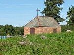 Копыль, кладбище христианское: часовня католич., после 1985 г.