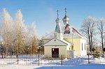 Красный Берег, церковь св. Георгия, после 1990 г.