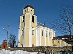 Кривичи, монастырь тринитариев:  костел св. апостола Андрея, 1796 г.
