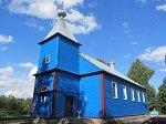 Лаша, церковь св. Николая (дерев.), 1822 г.?