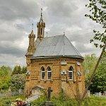 Лебедево, кладбище христианское:  часовня-усыпальница, 1910-е гг.