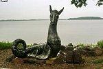Лепель, памятник цмоку (дракону)