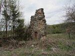 Лесино (Толоч. р-н), усадьба: служебные постройки (руины), XIX в.