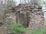 Лесино (Толоч. р-н), усадьба:  часовня-усыпальница (руины), XIX в.