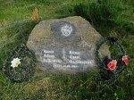 Лида, мемориальный камень на могиле Адама Фальковского