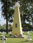 Лида, кладбище польских солдат: памятник польским солдатам, 1-я пол. XX в.