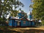 Ляховичи (Дрогич. р-н), церковь Рождества Богородицы (дерев.), 1883 г.