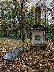 Лысково, кладбище христианское: часовня-надмогилье, XIX в.