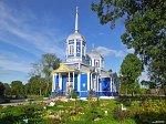 Местковичи, церковь Троицкая (дерев.), 1875 г.