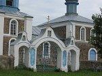 Мильча, церковь: брама и ограда, XIX-нач. XX вв.