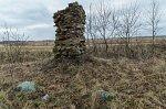 Мильча, часовня придорожная (руины), XIX в.?