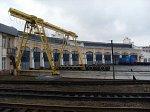 Могилев, железнодорожный вокзал: депо и служебные постройки, кон. XIX-нач. XX вв.