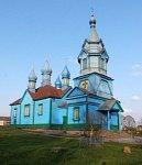 Николаево (Камен. р-н), церковь св. Параскевы Пятницы (дерев.), кон. XIX в.