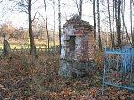 Новоселки (Мядел. р-н), кладбище христианское: часовня-надмогилье, 1-я пол. XX в.?