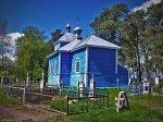 Огородники (Камен. р-н; Дмитров. сс), церковь Крестовоздвиженская (дерев.), 1841 г.?