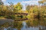 Огородники (Камен. р-н; Волчин. сс), мост через реку Пульва