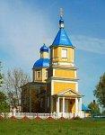 Озяты, церковь св. Николая (дерев.), 1870 г.