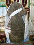 Паричи, церковь: каменный крест, XIV в.?