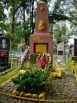 Петриков, могила Деда Талаша