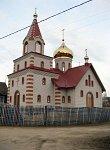 Петришки, церковь св. Феодосия Черниговского, после 1990 г.