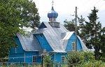 Подсвилье, церковь св. Георгия (дерев.), не ранее 1995 г.