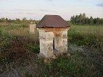 Погост-Загородск, кладбище христианское: часовни-надмогилья, XIX в.