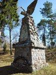 Полторовщина, кладбище солдат 1-й мировой войны:  памятник немецким солдатам, 1915-18 гг.