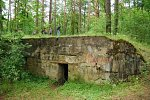 Поречье (Пинский р-н), оборонительные сооружения 1-й мировой войны, 1915-18 гг.