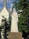 Слободка (Брасл. р-н), костел: памятник Евфросинье Полоцкой
