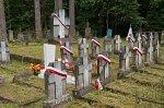 Слободка (Глубок. р-н), кладбище польских солдат, 1920-е гг.
