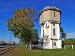Слоним, железнодорожный вокзал: башня водонапорная, 1-я пол. XX в.
