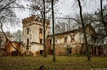 Смиловичи, усадьба:    дворец, XIX в.