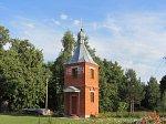 Сошно, церковь: колокольня, 1994 г.