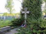 Старинки (Дзерж. р-н), могила Михаила Романюка (Міхася Раманюка)