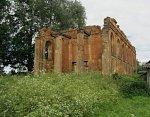 Старинки (Дзерж. р-н), церковь св. Петра и Павла (руины), 1836 г.