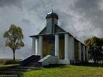Стародевятковичи, церковь св. Параскевы Пятницы (дерев.), 1820 г.