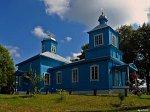 Ставок, церковь Вознесенская (дерев.), 1853-55 гг.