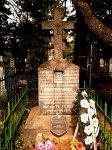 Столбцы, кладбище православное: могила летчика 1-й мировой войны