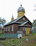 Свирь, церковь  старообрядческая Успенская (дерев.), 1906 г.