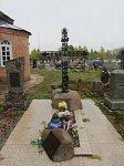 Свислочь, могила Виктора Калиновского
