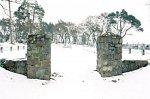 Тевли, кладбище солдат 1-й мировой войны: брама, 1915-18 гг.?