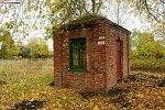 Уборок (Осипов. р-н), железнодорожная станция: хозпостройка, 1-я пол. XX в.