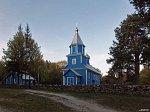 Вежное, церковь св. Николая (дерев.), 1771 г.?