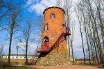 Ворняны, усадьба: башня-павильон, нач. XIX в.